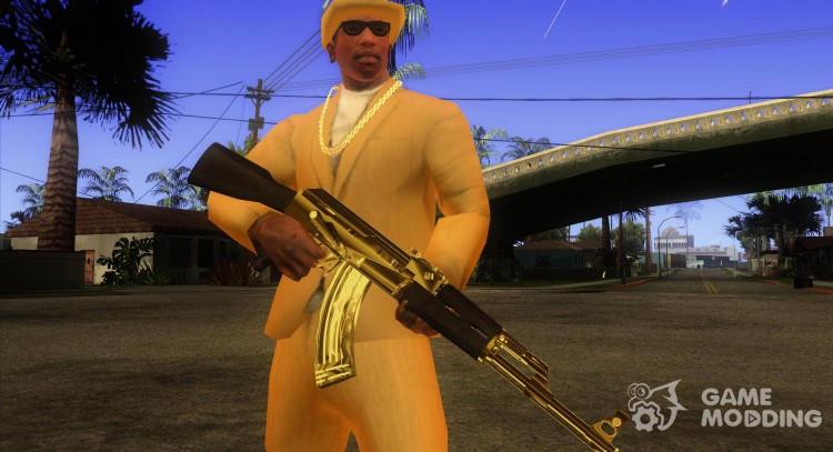 Pak Golden weapons for GTA San Andreas