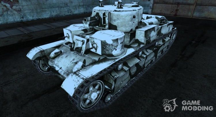 Т-28 зимний для World Of Tanks