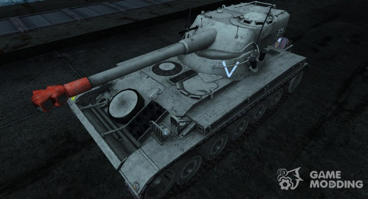 Skin for AMX 13 75 No. 22 for World Of Tanks