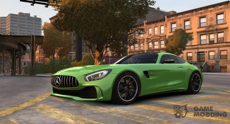 2017 Mercedes-Benz AMG GT R for GTA 4