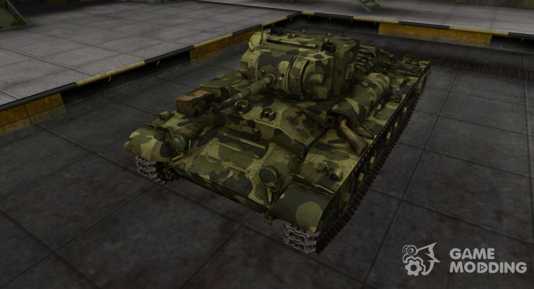 Skin for Valentine II camouflage for World Of Tanks