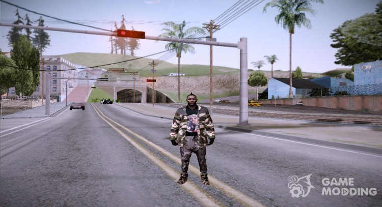 Balotelli for GTA San Andreas