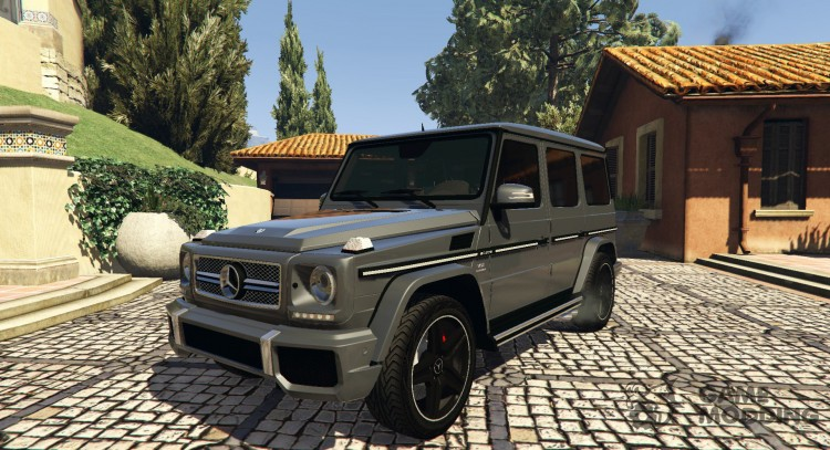 2013 Mercedes-Benz AMG G65 v1.2 for GTA 5
