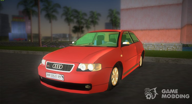 Audi S3 for GTA Vice City