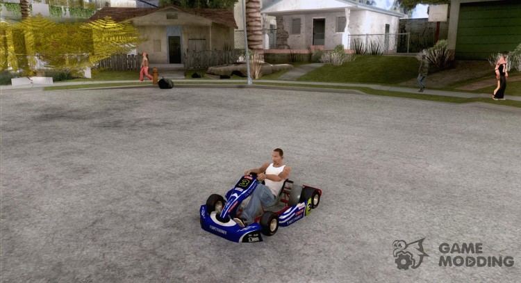 Shifter kart Honda CR 125 for GTA San Andreas