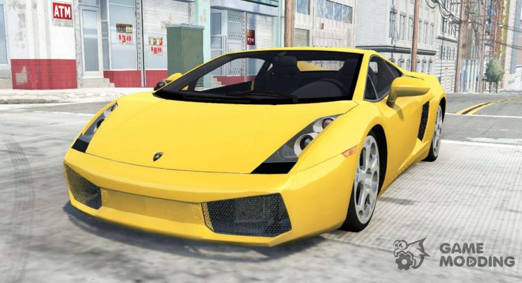 Lamborghini Gallardo 2005 for BeamNG.Drive