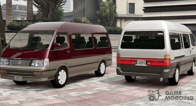 1994 Toyota HiAce Super Custom for GTA 5