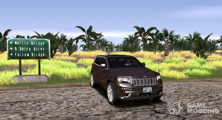 Jeep Grand Cherokee SRT 2012 for GTA San Andreas