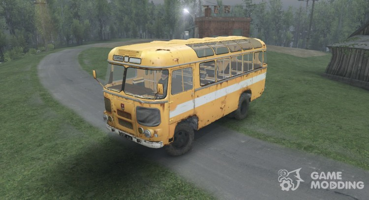 PAZ 3201 for Spintires 2014