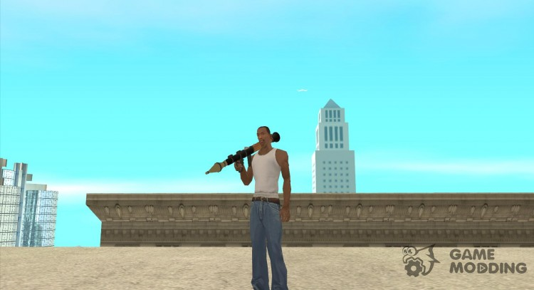 RiCkys Rocket Launcher для GTA San Andreas