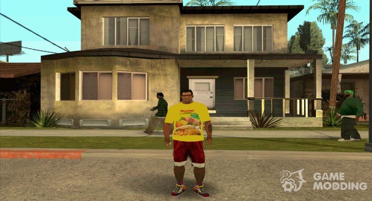 T-shirt Rolton for GTA San Andreas