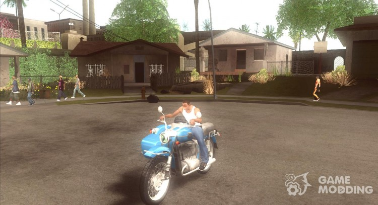 Ural Tourist sidecar for GTA San Andreas