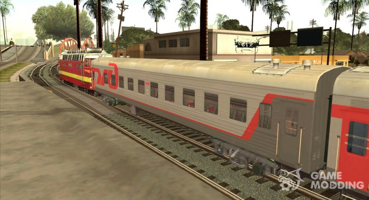 Passenger car RZD for GTA San Andreas