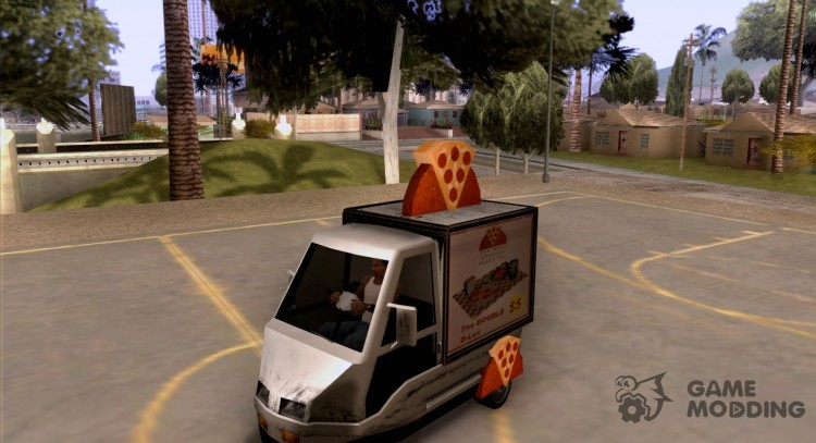 Sweeper Pizza Boy для GTA San Andreas