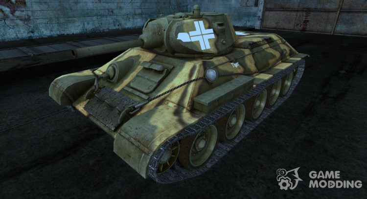 T-34 9 for World Of Tanks