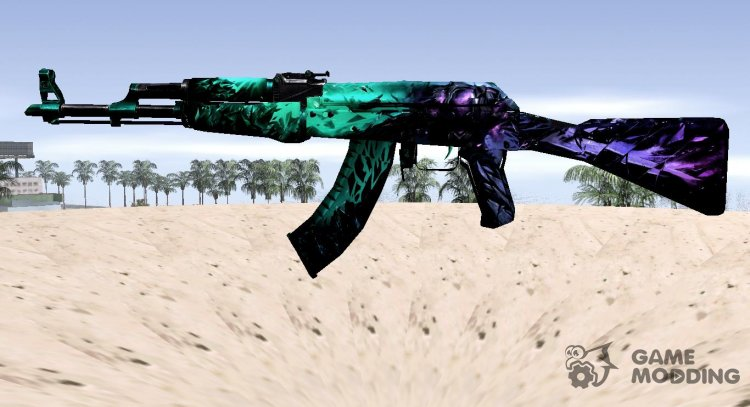 CSGO AK47 ILLusion for GTA San Andreas