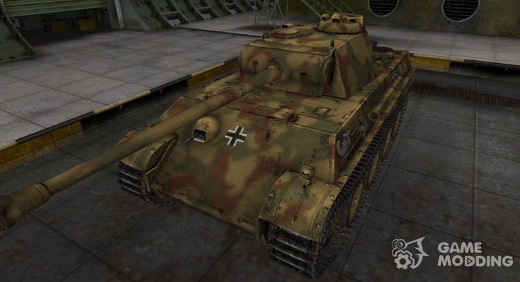 German skin for PzKpfw V Panther for World Of Tanks