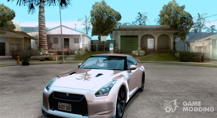 Nissan GTR R35 for GTA San Andreas