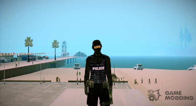 Swat for GTA San Andreas