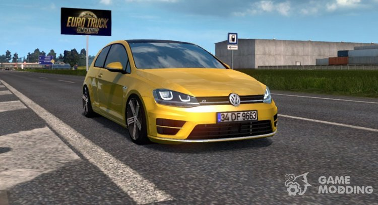 Volkswagen Golf R-Line for Euro Truck Simulator 2