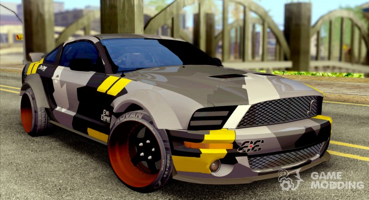 Ford Mustang Evil Empire 2016 для GTA San Andreas