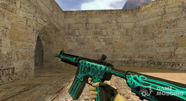 M4A1 x-ray for Counter Strike 1.6
