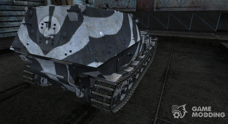 Skin for Ferdinand from Mokey1976 for World Of Tanks