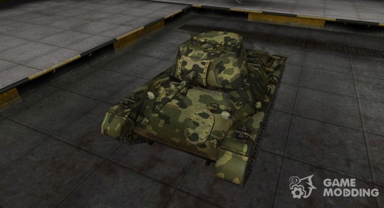 Skin for t-127 with camouflage for World Of Tanks
