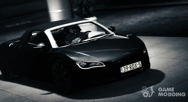 Audi R8 Spyder for GTA 5