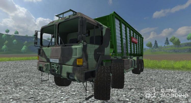 MAN GL 10T v0 9 Silage for Farming Simulator 2013