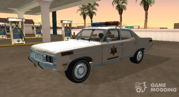 AMC Matador 1971 Hazzard County Sheriff for GTA San Andreas