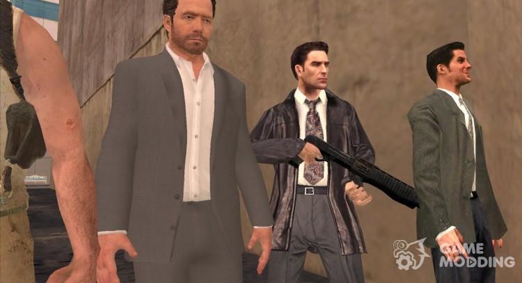 Skins Max Payne For Gta San Andreas