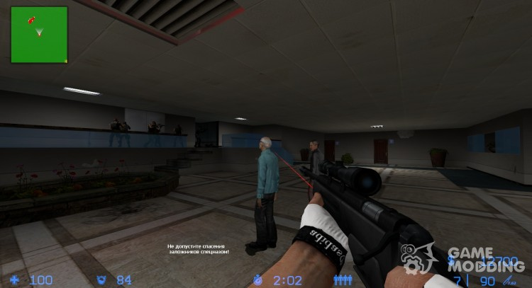 Tactical scout for Counter-Strike Source