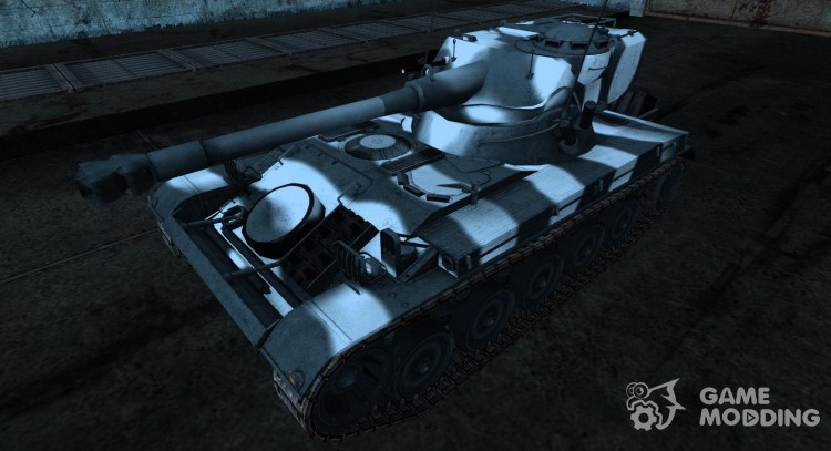 Шкурка для AMX 13 75 №23 для World Of Tanks
