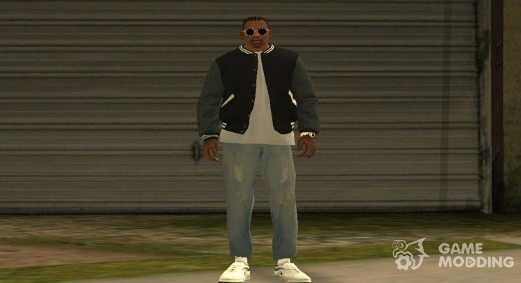 Franklin Jacket GTA 5 v2 for GTA San Andreas