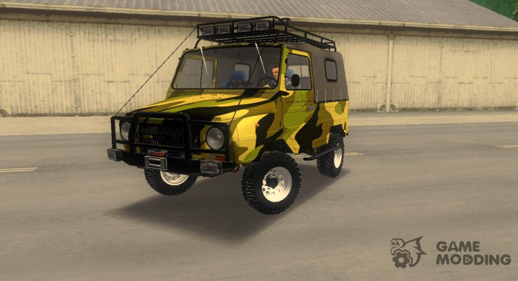 Luaz 969 m off-road Forest camouflage for GTA 3