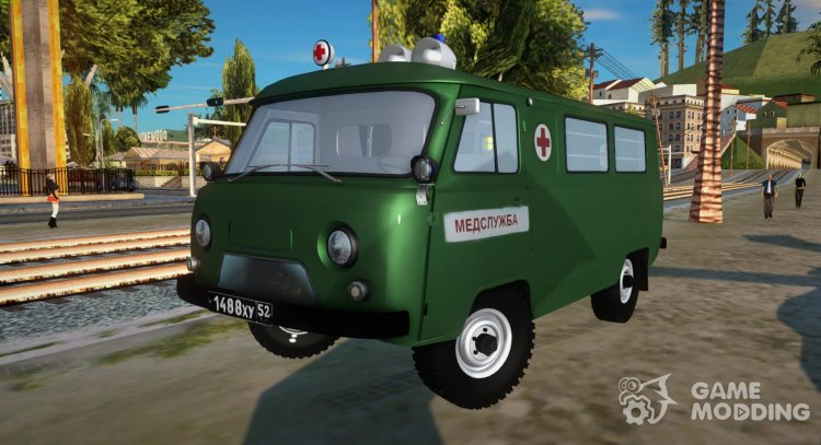 UAZ-452 Ambulance for GTA San Andreas