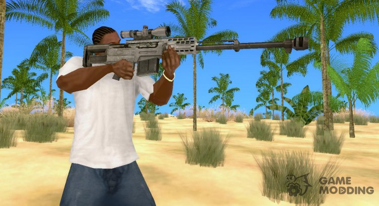 AS50 sniper rifle for GTA San Andreas