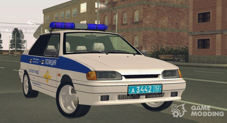 VAZ 2115 ABOUT THE PPS OF THE MINISTRY OF INTERNAL Affairs for GTA San Andreas