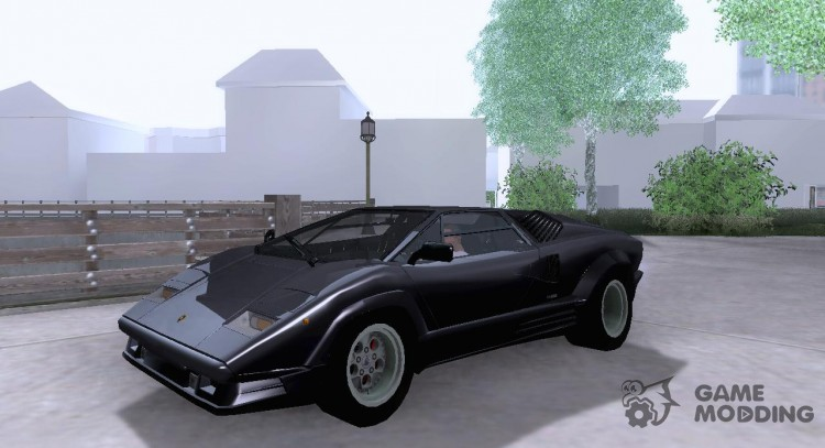Lamborghini Countach 25th for GTA San Andreas