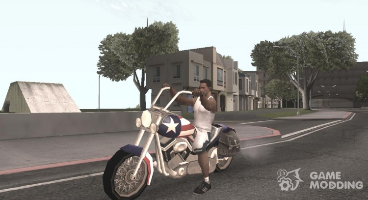 Liberty City Stories Angel for GTA San Andreas