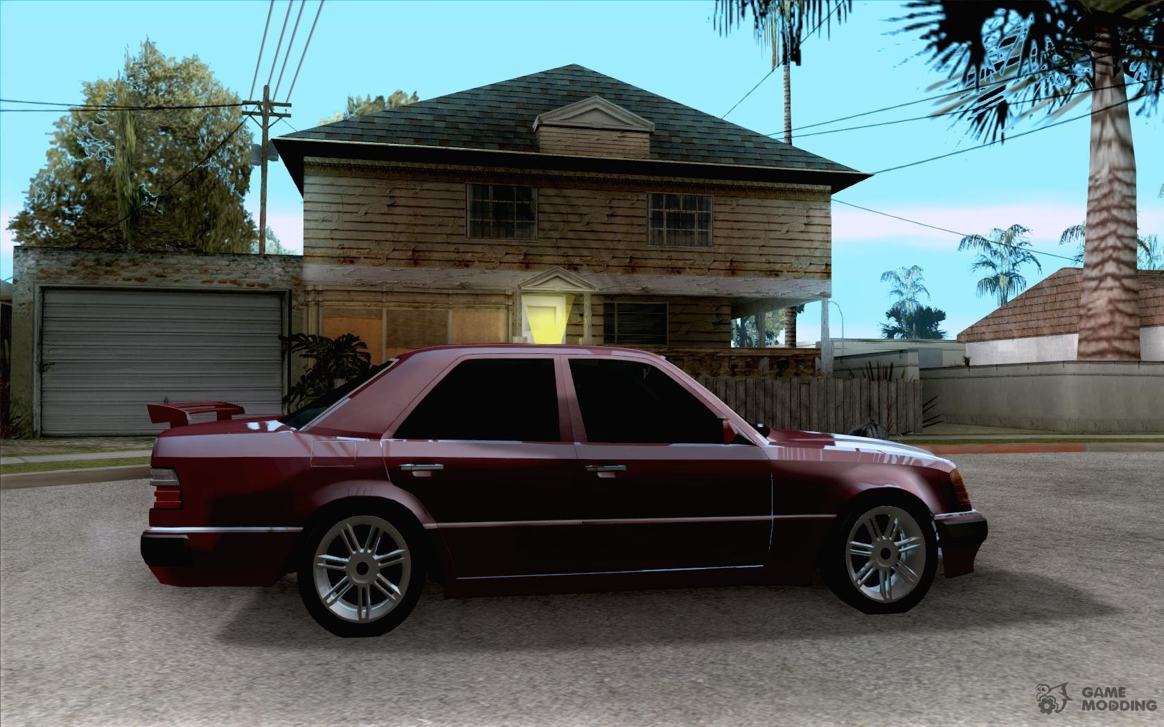 mercedes benz e500 taxi 1 for gta san andreas. Black Bedroom Furniture Sets. Home Design Ideas