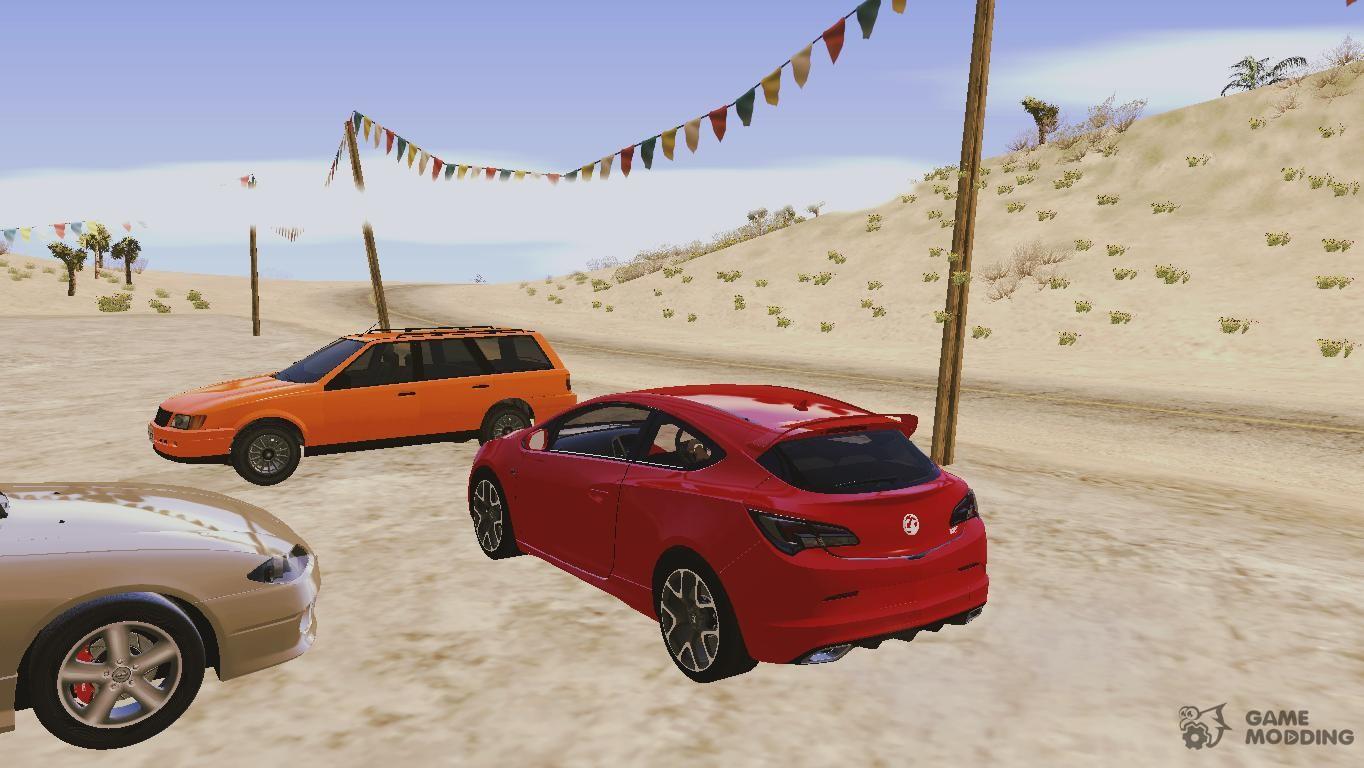 Vauxhaul Astra Vxr For Gta San Andreas