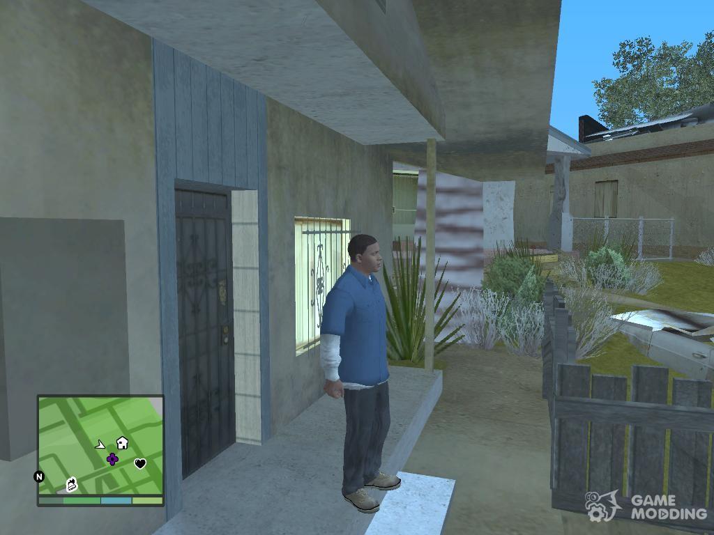 Franklin original GTA V for GTA San Andreas