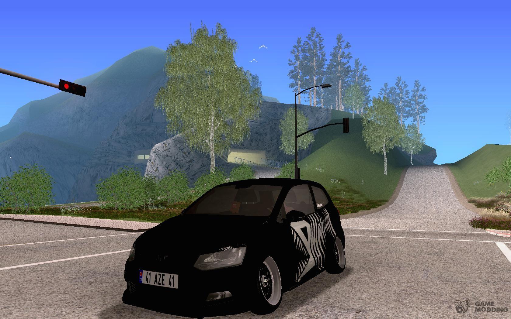 Volkswagen Polo GTI Black Devil for GTA San Andreas