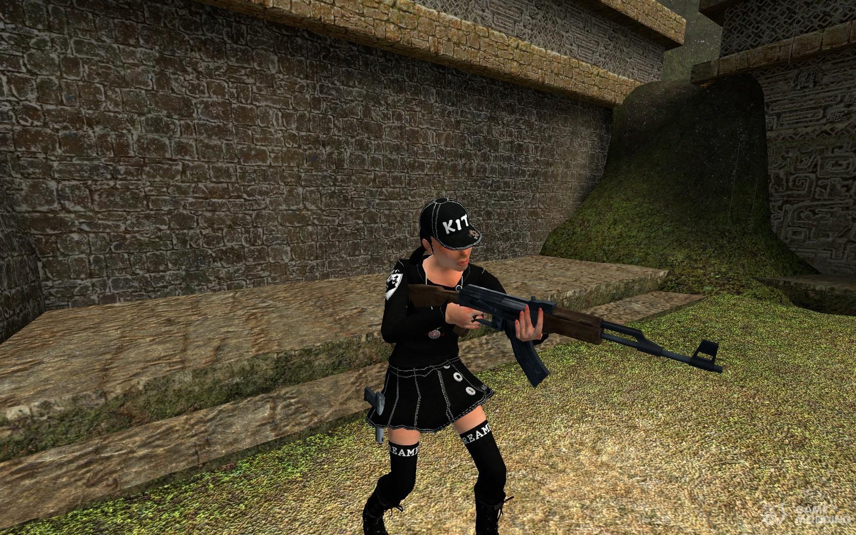 Counter Strike Player Skins