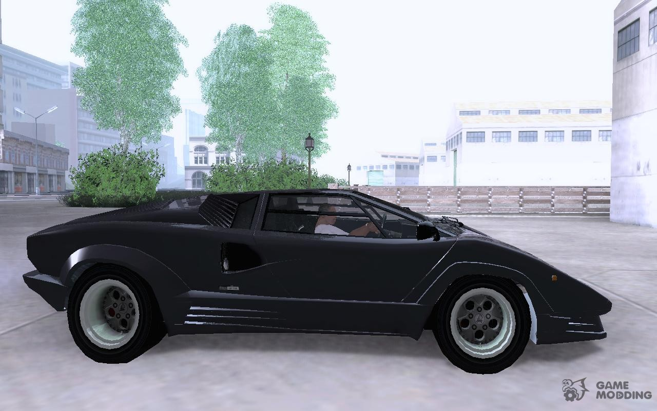 lamborghini countach 25th for gta san andreas. Black Bedroom Furniture Sets. Home Design Ideas