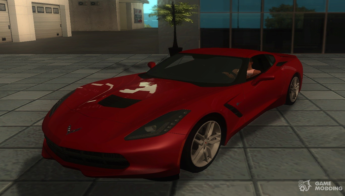 Chevrolet Corvette C7 Stingray 2014 for GTA San Andreas
