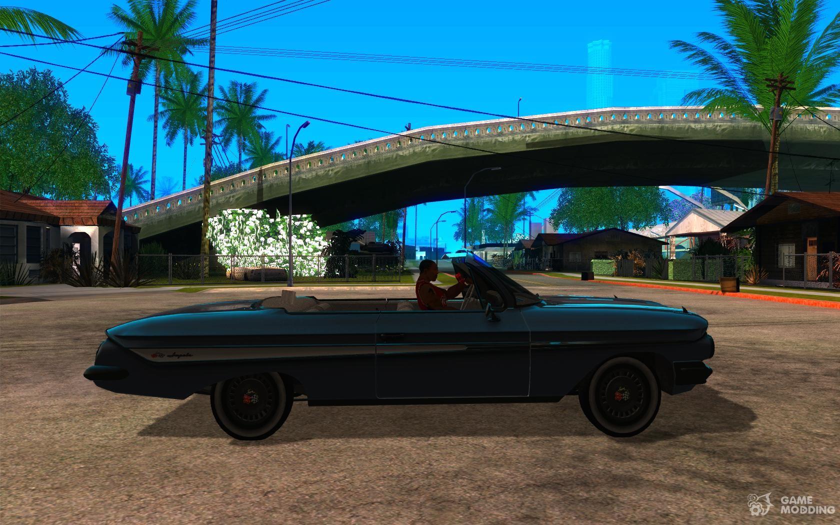 1961 Chevy Impala Ss For Gta San Andreas