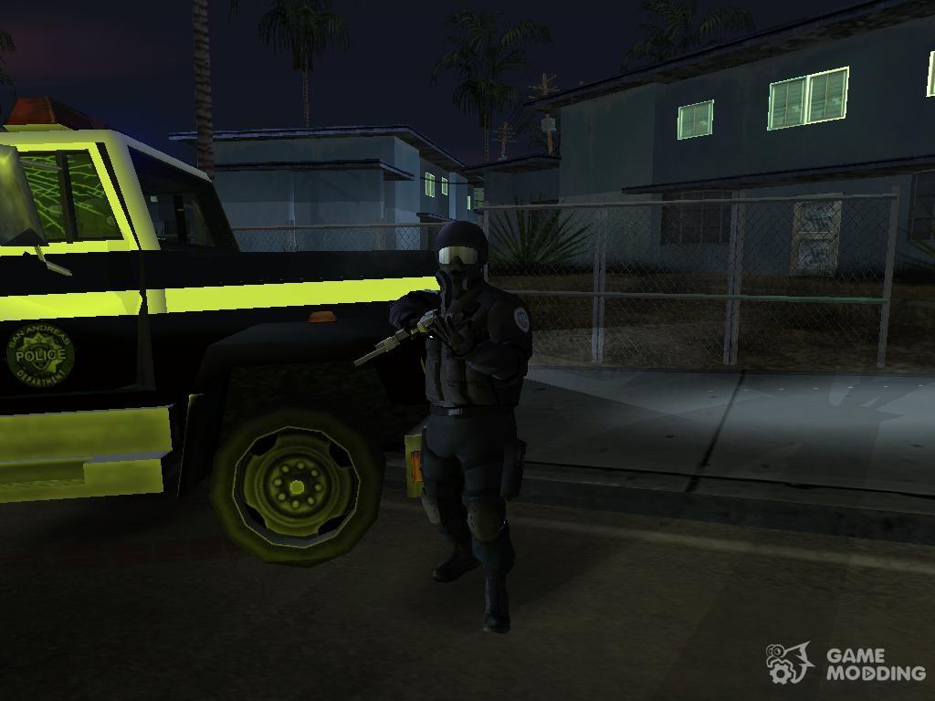 SWAT from GTA 4 for GTA San Andreas